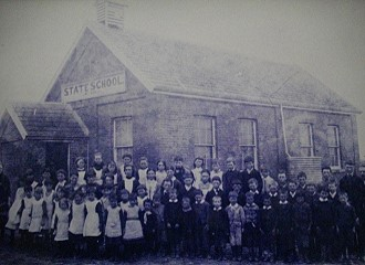 The first Tylden Primary School building